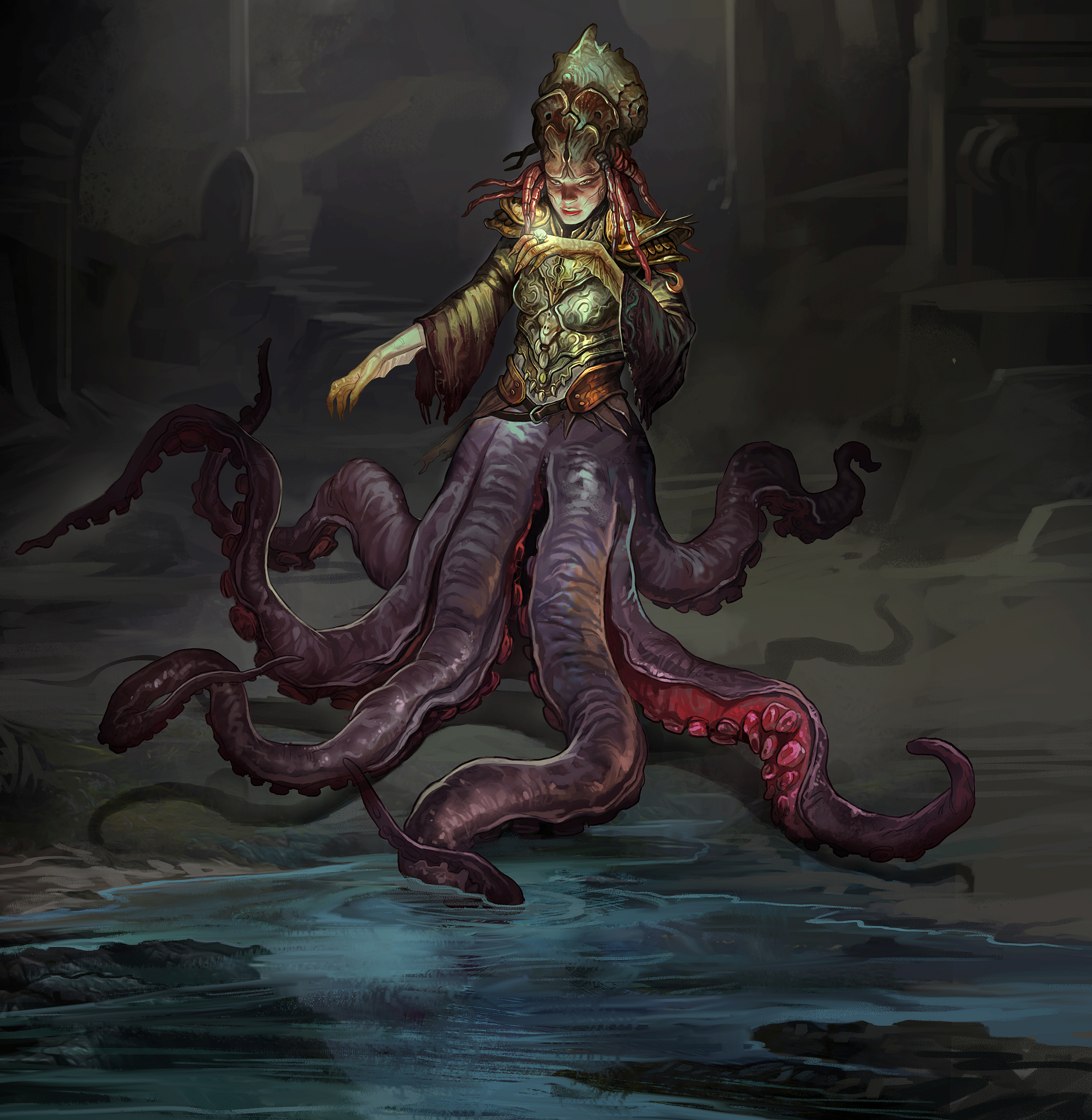 octopus characters