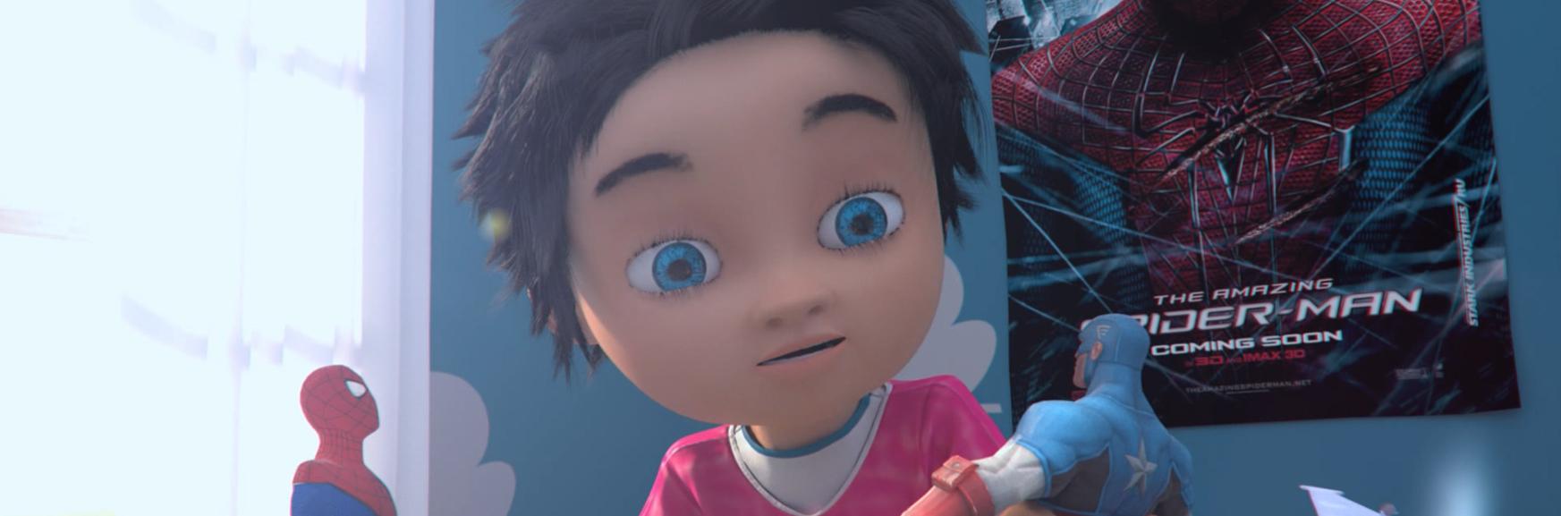 animation heros