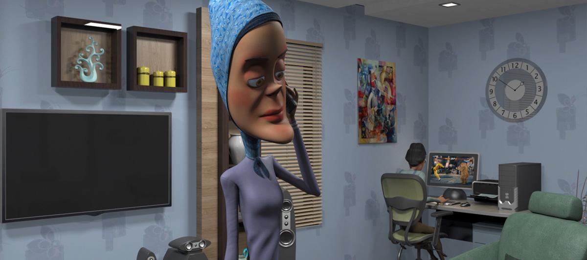 zebar jad Animation serial